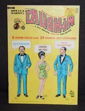 VINTAGE Paper Dolls 1969 ROWAN & MARTINS LAUGH-IN Uncut! lot k