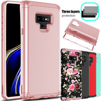 For Samsung Galaxy Note 9 Phone Case Shockproof Hybrid TPU Hard Armor Full Cover
