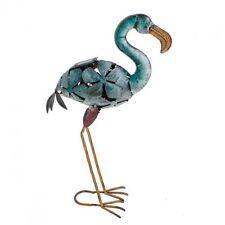 Gartenfiguren & -skulpturen aus Metall mit Standard-Größe Flamingo