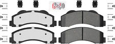 Disc Brake Pad Set-Ceramic Pad Kit with hardware Front Autopartsource VP1414K