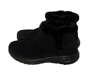 Womens Skechers Black On The Go Joy Boot Size 7.5 NEW Retail $70