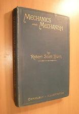 1892-  Mechanics and Mechanism - Principles of Mechanics - Machine Gearing