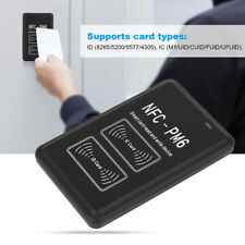 Portable 125KHZ 13.56Mhz ID IC Card Copier Reader Writer USB-C Type C Charging