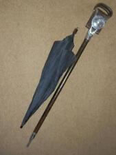 "RARE ANTIQUE ""THE SWADENEY""  CONCEALED UMBRELLA SHOOTING STICK . SWAINE & ADENY"