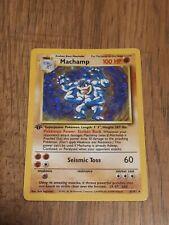 machamp 1st edition near mint