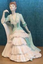 Coalport Age Of Elegance Victoria Gardens Figurine Boxed