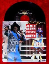 Single James Brown Living in America Rocky IV