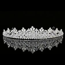 Handmade Bridal Pageant Rhinestone Crystal Prom Wedding Crown Tiara 8934
