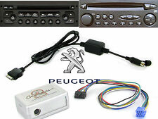 ctapgipod010.2 Peugeot 206 iPod Adapter Interface 2002 ab RD3 Radio iPhone