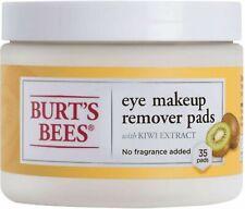 Burt'S Bees Eye Makeup Remover Pads Kiwi Extract/ 99.5% Natural- No Fragrance