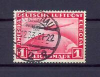 DR 496 Zeppelin Chicagofahrt 1 RM gestempelt (xs200)
