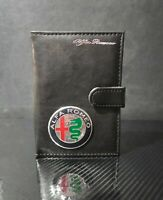 Handmade Alfa Romeo Document Holder Driver License Wallet