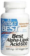 Los médicos mejor, ácido alfa lipoico - 600 Mg x60vcaps