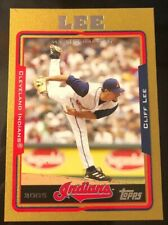 Cliff Lee 2005 Topps Series 1 Gold Insert /2005 #183 Cleveland Indians Legend!