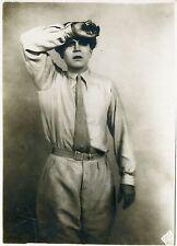 GUSTAV FRÖHLICH  METROPOLIS  FRITZ LANG  1927 VINTAGE PHOTO ORIGINAL UFA
