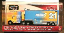 DISNEY Pixar CARS Speedy Comet's Hauler Blinkr 21 Transport Truck NEW IN PACKAGE