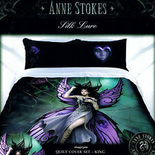 Anne Stokes - Silk Lure - King Bed Quilt Doona Duvet Cover Set