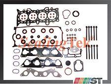 Fit 01-05 Honda 1.7L SOHC D17A Engine Cylinder Head Gasket Set + Bolts Kit 1.7EL