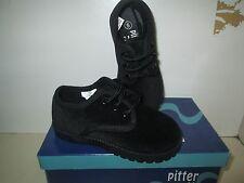 NIB Black Velvet Boys Infant/Toddler Shoes Size 1-10
