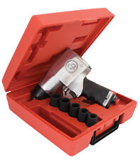 """CP734H Metric Kit Chicago Pneumatic 1/2"""" Impact Wrench with sockets - top brand"""