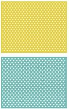 Lifestyle Crafts GooseBumpz, Double Pack, A2 Embossing Folders TWINKLE ~ EF0026