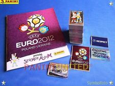 Panini★EURO 2012 EM 12★international complete set/Komplettsatz + empty album