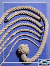 Polyhanfseil 16 mm, Kunsthanf METERWARE Polyhanf Seil wetterfestes Tau, Ziehtau