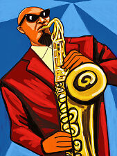 SONNY ROLLINS PRINT poster saxophone colossus way out west cd village vanguard