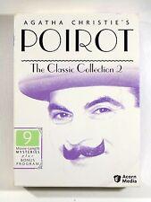 Poirot - The Classic Collection (9 Movie Length Mysteries + Bonus Program)