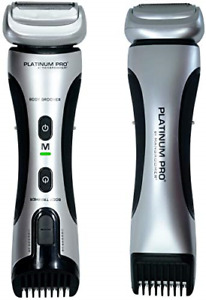 PLATINUM PRO by MANGROOMER - New Body Groomer, Ball Groomer and Body Trimmer Max