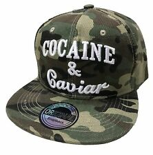Cocaine SnapBack cap gorra basecap gorra hip-hop Trucker Cappy camoflage nuevo