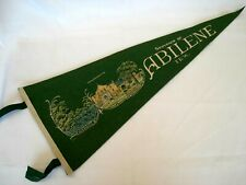 "1950'S PENNANT SOUVENIR OF ABILENE TEXAS 27"" LONG"