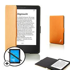 Forefront Hülle Orange Intelligente Tolino Vision 4 HD bildschirm Schutz Stift