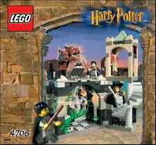 INSTRUCTIONS ONLY LEGO FORBIDDEN CORRIDOR 4706 HP manual book from set