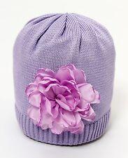 CATYA Sommermütze mit 3D Blume lavendel 100% Baumwolle  NEU
