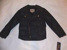 Polo Ralph Lauren Co Denim Trucker Jacket black Size 5 Boys NEW