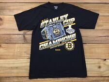 Reebok Boston Bruins 2011 Stanley Cup Finals Champions Diamond Ring T-Shirt M