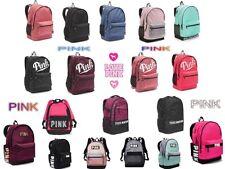 New VICTORIA SECRET PINK Campus Backpack,Collegiate Backpack Book Bag.  Bling