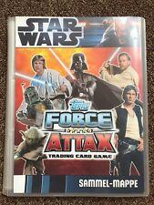 Topps FORCE ATTAX Star Wars Movie Card Serie 1 - alle 240 Karten komplett