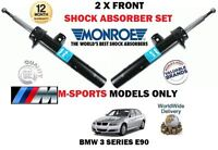 FOR BMW 316 318 320 325 328 330 335 E90 2 X FRONT LEFT+ RIGHT SHOCK ABSORBER SET