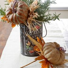 "RAZ Imports~13"" Harvest Pumpkin Pick Set 2~Floral/Branch/Stem/Tree/Wreath/Leaf"
