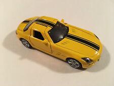 Siku Mercedes-Benz SLS AMG Yellow Scale 1:55 Diecast Model Supercar