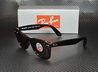 RAY BAN RB2140 902 57 Wayfarer Tortoise Brown Polarized 50 mm Unisex Sunglasses