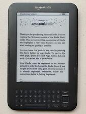 Amazon Kindle Keyboard 3rd Generation D00901 + Green Case BUNDLE