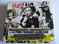 Alain Kan - Edition Collector des 3 Albums Mythiques
