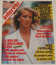 INTERVIU #482 1985 Rock Hudson nude models Angel Nieto Spain men's magazine