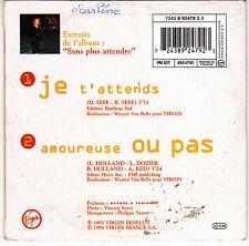 CD CARTONNE CARDSLEEVE 2T AXELLE RED JE T'ATTENDS DE 1994 FRANCE