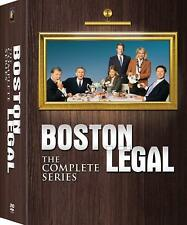 Boston Legal: The Complete Collection Series Season 1 2 3 4 5 [DVD Set Law] NEW