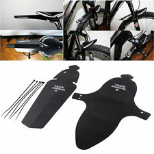 1 Set Cycling MTB Mountain Bike Bicycle Front + Rear Mud Guards Mudguard Fenders