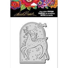 Stampendous Laurel Burch Cling Stamp - Reindeer Spirit LBCP006